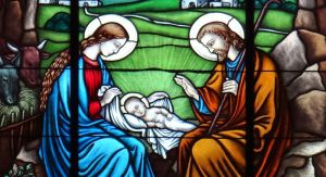 Stained-glass_window_in_Church_of_the_Nativity_of_the_Virgin_Mary_in_Mińsk_Mazowiecki_-_02