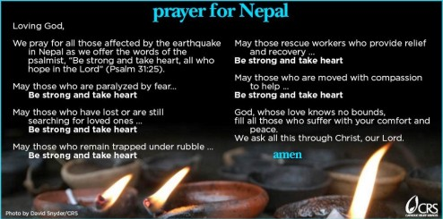 Prayer for Nepal